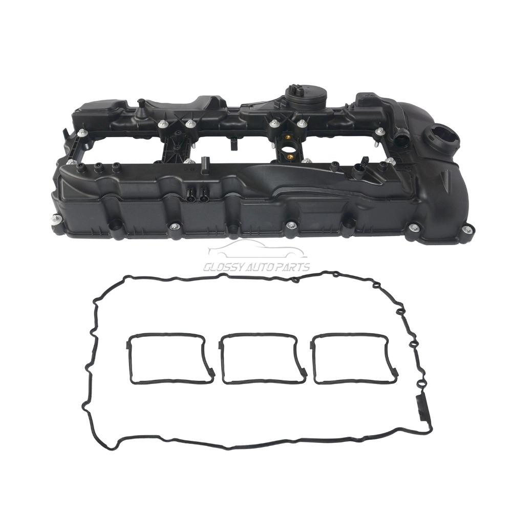 Engine Valve Cover With Gasket Kit For BMW E92 E93 E82 E82 640i 535i xDrive  435i 335i n55 11127570292 11 12 7 570 292