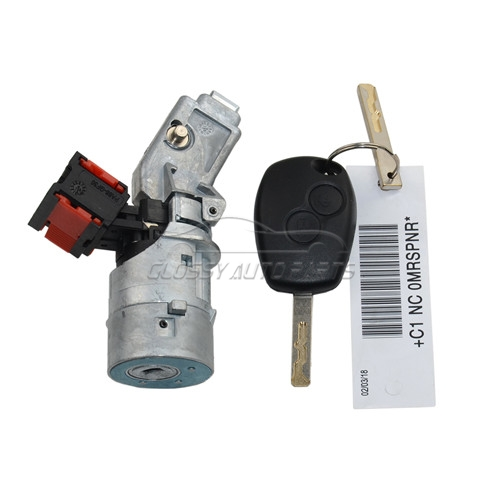 New Ignition switch 4 pin For Renault Master Trafic Clio III KANGOO II FLUENCE MODUS TWINGO WIND 487004438R 7701208408 8200214168