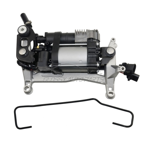 Air Suspension Compressor With Carrier for Porsche Cayenne II 92A 95835890100 95835890101 95835890102 95835890103 95835890104 95835890105