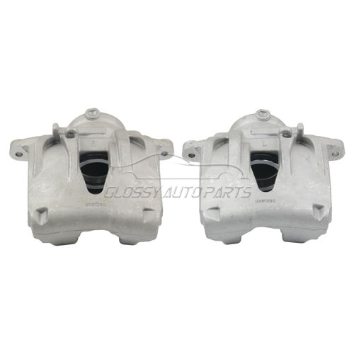 Brake Calipers Front Left + Right For Mercedes-Benz E320 Base Sedan Base Wagon 3.2L 2003-2009 0024204183 0024204283 0034200183 0034200283