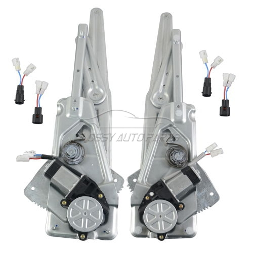 Front Left+Right Window Regulator For Renault Twingo I Box C06 1.2 S063 S064 S066 S068 8200051780 8200051779