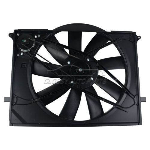 Radiator Fan Assembly For Mercedes C215 Coupe CL55 AMG CL500 A 220 500 00 93 2205000093 696126 85401